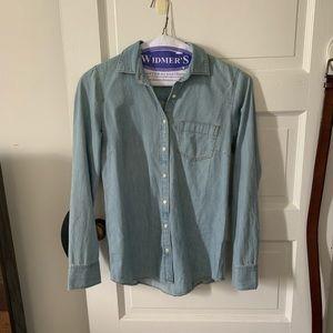 JCReW chambray shirt